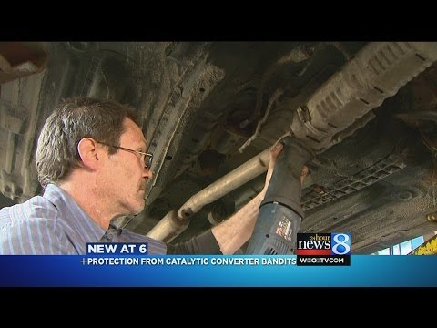 Seconds To Steal A Catalytic Converter