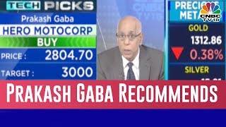 Prakash Gaba Tells Buy Hero MotoCorp, Sell Bharti Airtel | Halftime Report