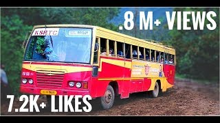 Off-road K S R T C and Private bus || Kerala Ksrtc And Private Bus //ALL IN ONE MEDIA KERALA BRKST