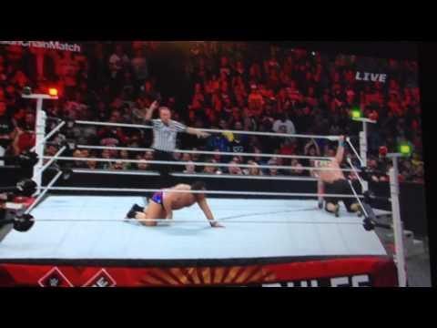 WWE Extreme Rules 2015 John Cena vs Rusev Russian Chain Match(Final Moments)