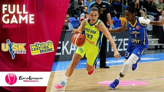 ZVVZ USK Praha v Castors Braine - Full Game - EuroLeague Women 2019-20
