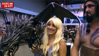 Game of Thrones Season 4 & Cosplay Interview - Daenerys, Drogo & Dragon