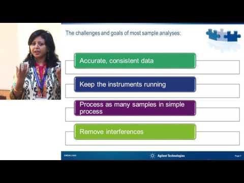 ILSI India:  Subsampling and Advances in Sample Preparation Techniques (Dr. Anshu Kumari Singh)