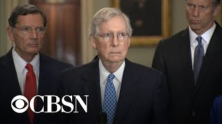 McConnell says he didn't tell Trump his Ukraine call was