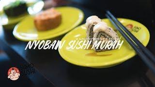 NYOBAIN SUSHI MURAH KE SUMO SUSHI BAR #foodVLOG