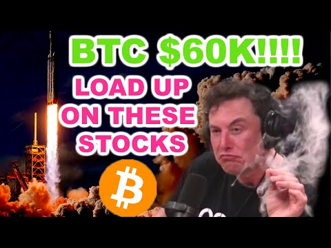 BITCOIN $60K These are THE BEST Bitcoin Crypto Stocks to INVEST in 2021!