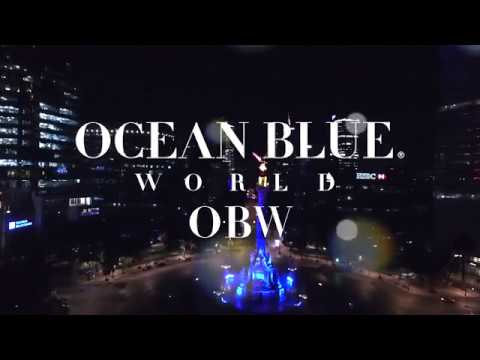 Ocean Blue World Glamour Racing Night  - Unravel Travel TV