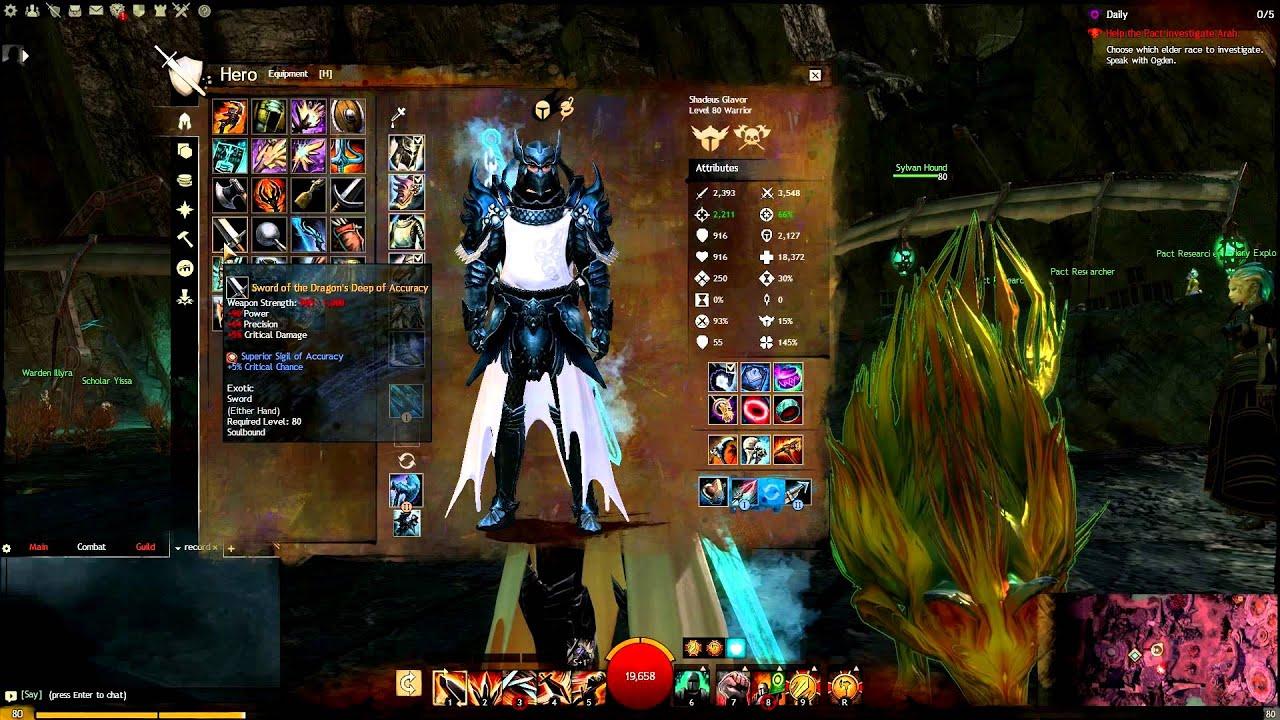 Image Result For Guild Wars Warrior Builds Pvp
