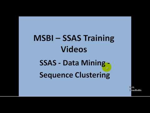 MSBI - SSAS - Data Mining - SEQUENCE CLUSTERING