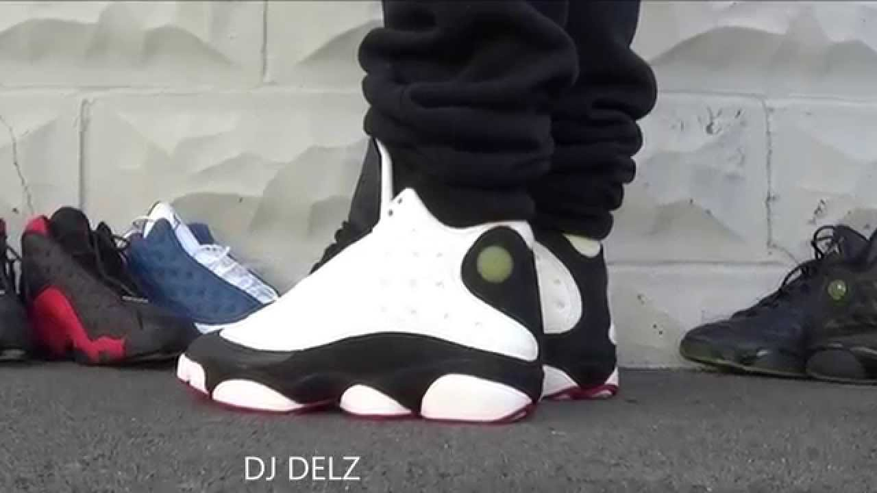 Air Jordan He Got Game 13 Xiii Og Sneaker On Feet With