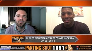 Alonzo Menifield talks LFA 28, Contender Series win and potential UFC call up