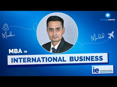 How did Aniruddh make it from Mumbai to MBA | IE Business School of Spain | 10 years of Experience