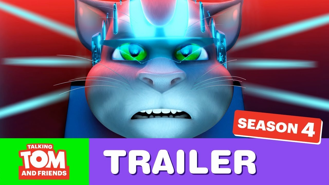 Talking Tom And Friends Season 4 Trailer Now What Youtube