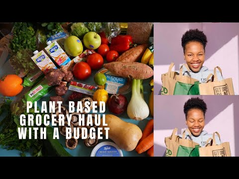 VEGAN SHOPPING BUDGET   Plant based Grocery shopping guide   August 2020   South African Youtuber