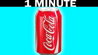 HOW TO COOL ANY DRINK IN 60 SECONDS *Life Hacks*