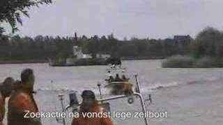 Zoekactie brandweer Heerenveen  'na vondst van een zeilboot'