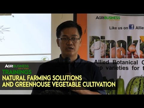 Natural farming Solutions and Greenhouse Vegetable Cultivation | Agribusiness How It Works Trainings