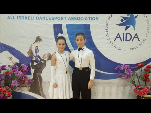 Cha Cha Cha Dance Israel Open Competition Children's Nice Dancing танец чемпионов