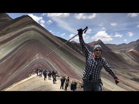 Rainbow Mountains Peru : Travel Episode 8