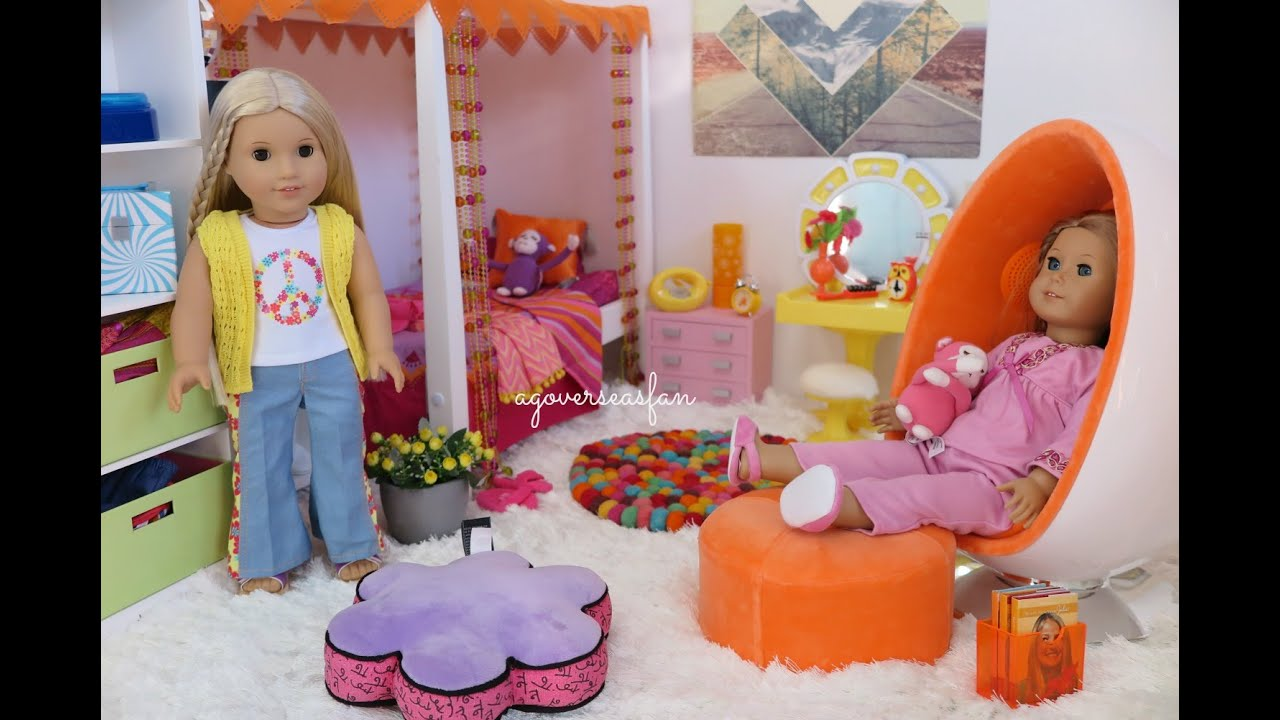 american girl doll julie s bedroom youtube 14010 | maxresdefault