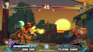 Starbase Arcade SSFIVAE: John Choi vs. Filipino Champ - Grand Finals [Part 1]