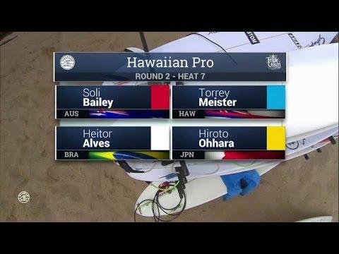 2016 Hawaiian Pro: Round Two, Heat 7