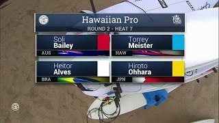 2016 Hawaiian Pro: Round Two, Heat 7