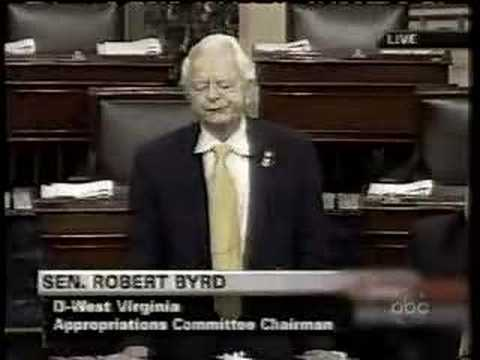 Sen Robert Byrd