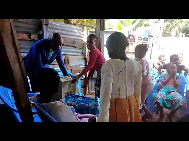 The Blessing of Food for the Kolongolo Kenya Fellowship