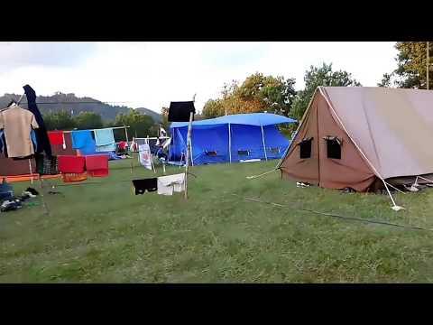 Lagu Pramuka - Kembangkan kemah di padang (dengan klip dan lirik)