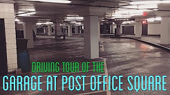 Tour of the Garage at Post Office Square - Boston MA