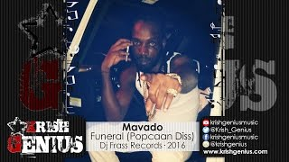 Mavado - Funeral (Popcaan Diss) September 2016