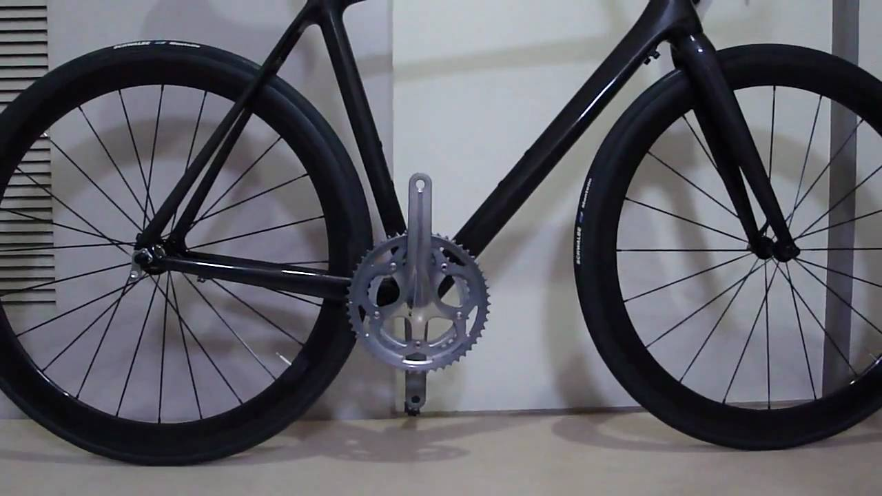 painting chinese carbon frame 中華カーボン - YouTube