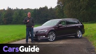 Volkswagen Passat 206 TSI R-Line 2017 review | first drive video