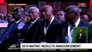 2019 DBE Matric Results | Min. Motshekga announces pass rate of 81.3%
