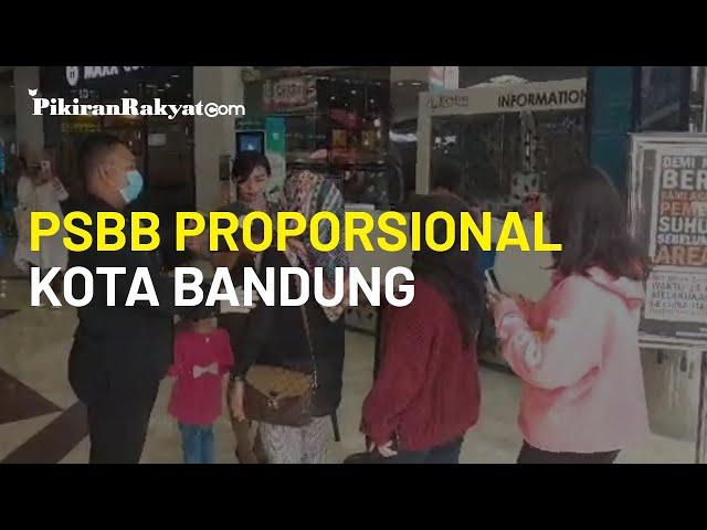 Penerapan PSBB Proporsional di Kota Bandung, Wali Kota Oded Pastikan Pos Cek Poin Ditiadakan