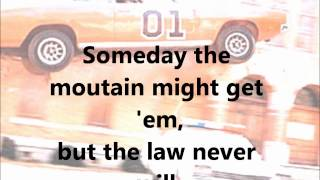 The Dukes of Hazzard Theme - Lyrics
