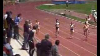 Cristina Ferrándiz subcampeona de Cataluña Júnior en 100m.l.