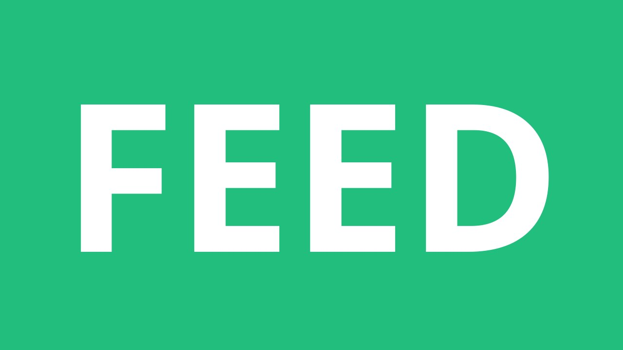How To Pronounce Feed   Pronunciation Academy
