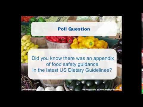 6/16/16 Webinar: Nutrition + Food Safety = Great Eating!
