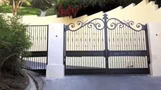 Bel Air Estate Gates - Are these the Best in L.A.?