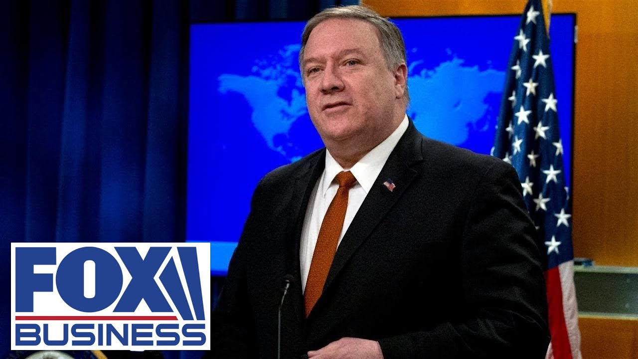 Live: Pompeo holds press conference with the Russian Foreign Minister