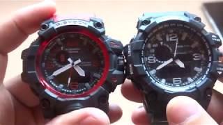 Skmei 1155 VS Réplica G-Shock