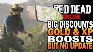 Red Dead Online Update  - BIG Discounts & Bonuses, But No Summer Update