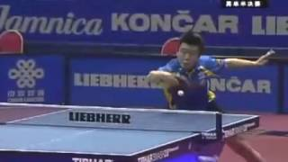 马琳VS王皓 49届世乒赛男单半决赛