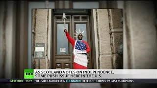 Texas secessionists praise Scottish independence vote