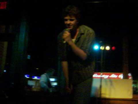 Andrew @ the Gladstone Hotel Karaoke Night