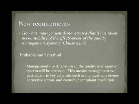 ISO 9001 2015 Critical Points of Review During the Transition Audit Process