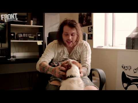 FRONT TV: Danny Worsnop from Asking Alexandria answers your questions