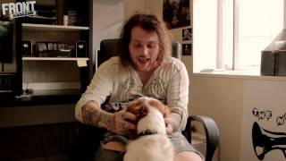 front tv danny worsnop from asking alexandria answers your questions